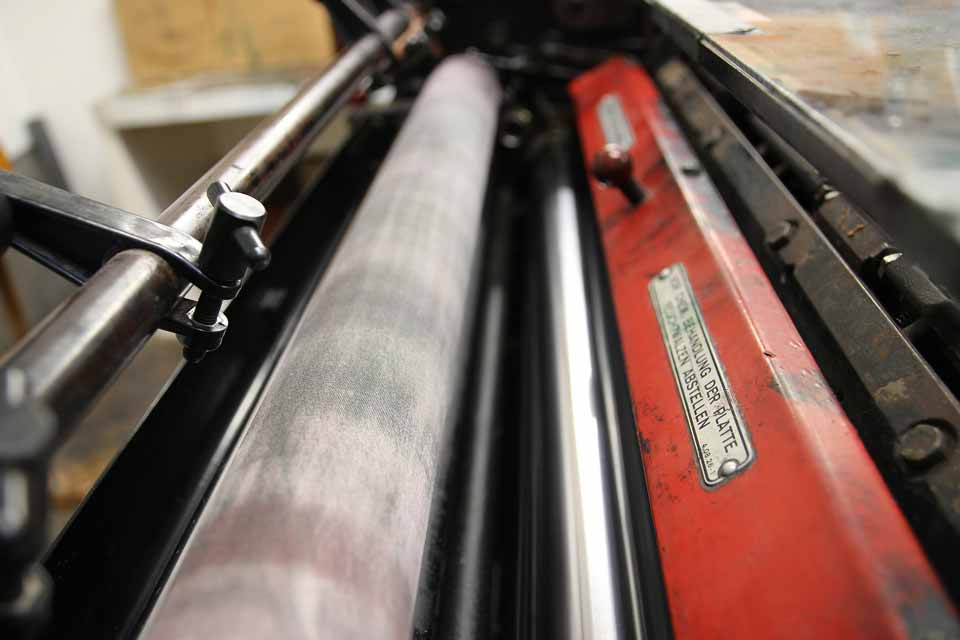 Employee Sustained Serious Injury at Printing Company