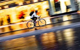 Cyclists At Risk From Potholes