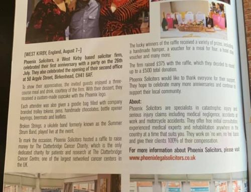 Phoenix Solicitors Featured in Love Wirral Magazine (Issue 91)